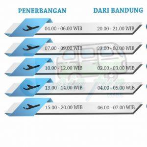 Travel Bandung ke Bandara Halim Perdanakusuma jakarta door to door