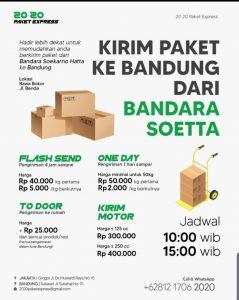 Estimasi Harga Kirim Paket Dan Dokumen Dari Bandung ke Jakarta