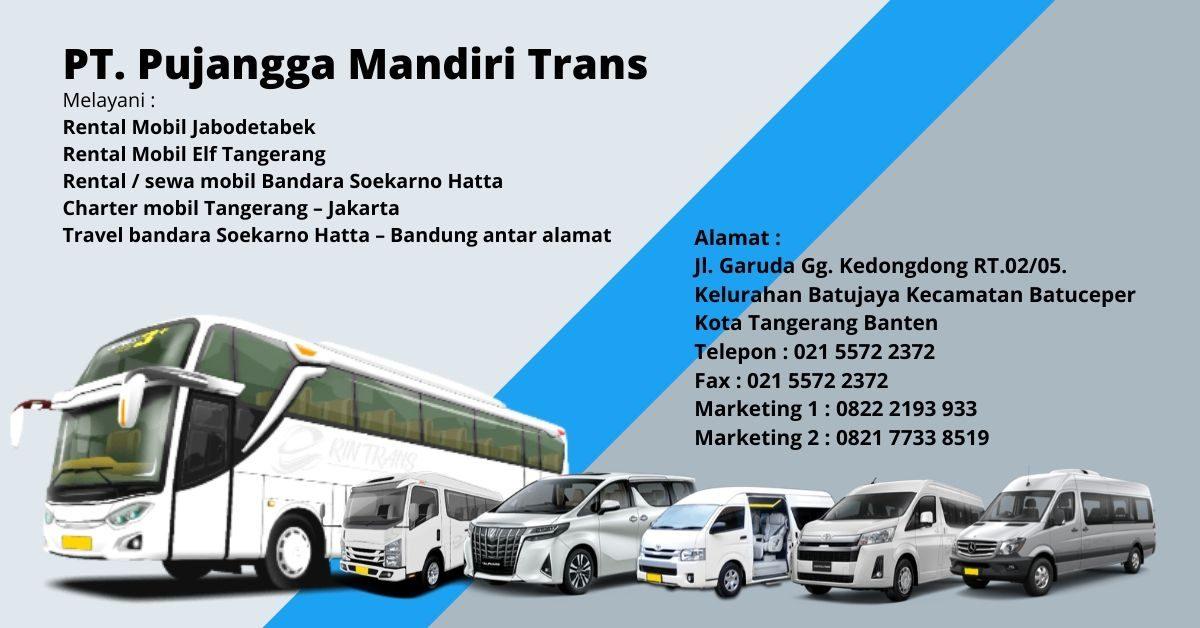 PT. Pujangga Mandiri Trans| Rental elf haice bus